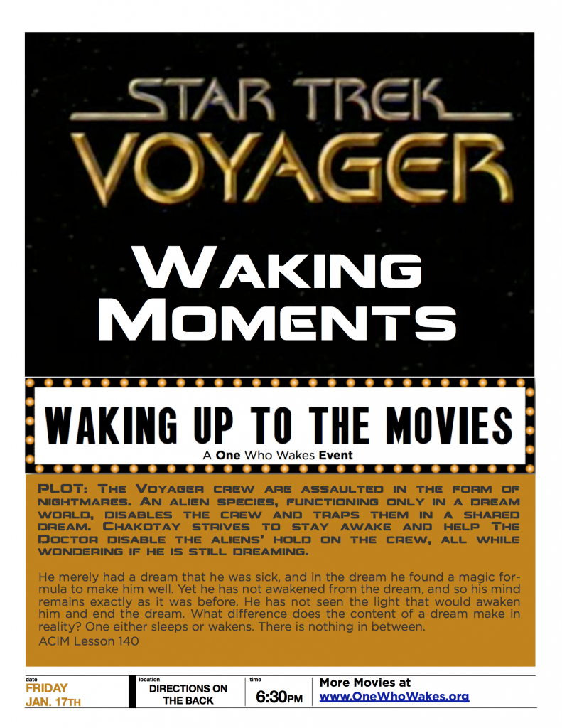 Star Trek Voyager - Waking Moments - Movie - One Who ...